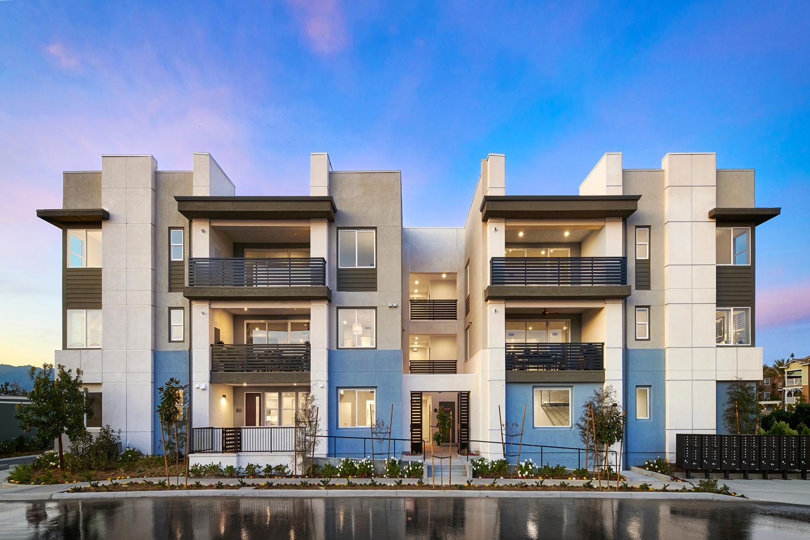 Exterior | Aspire | New Homes in Rancho Cucamonga, CA | Van Daele Homes