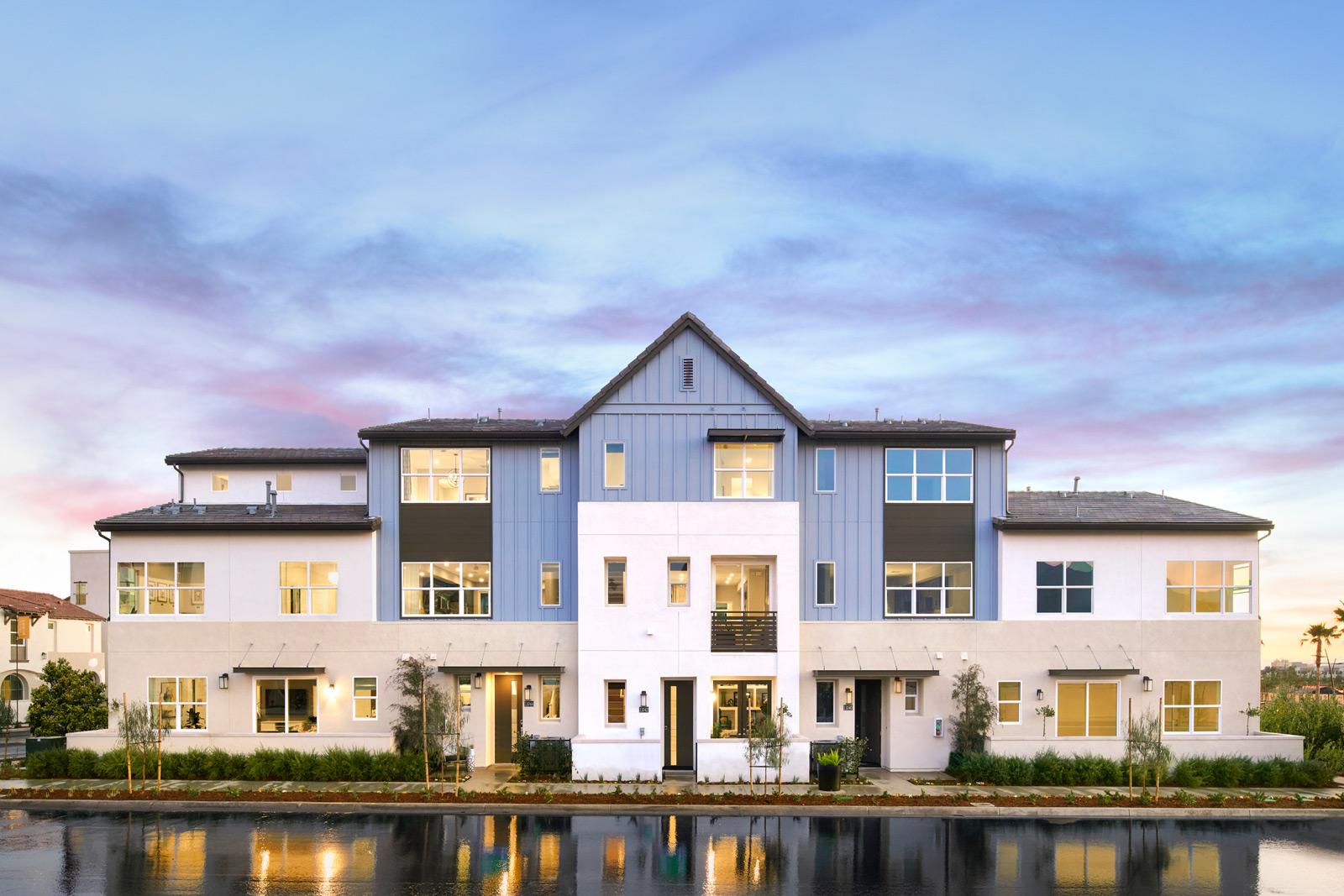 Exterior   Enliven   New Homes in Rancho Cucamonga, CA   Van Daele Homes
