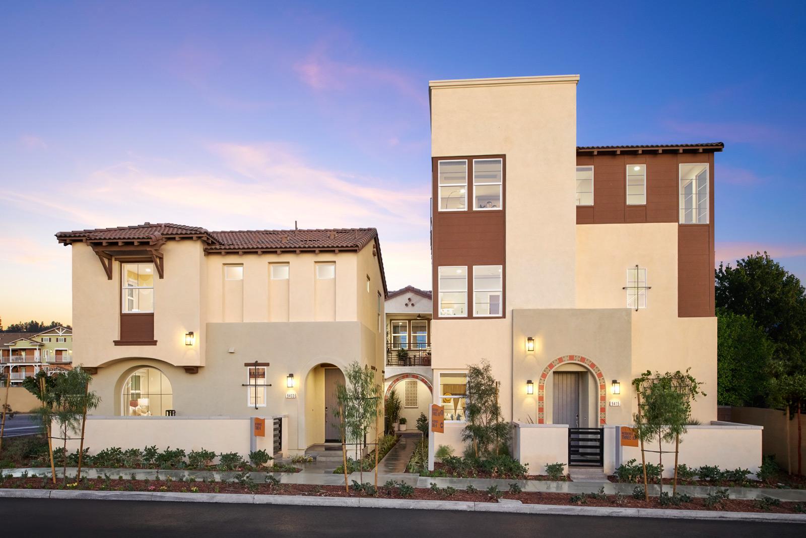 Exterior   Lumin   New Homes in Rancho Cucamonga, CA   Van Daele Homes