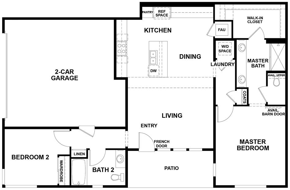 Aspire   Residence 2 First Floor