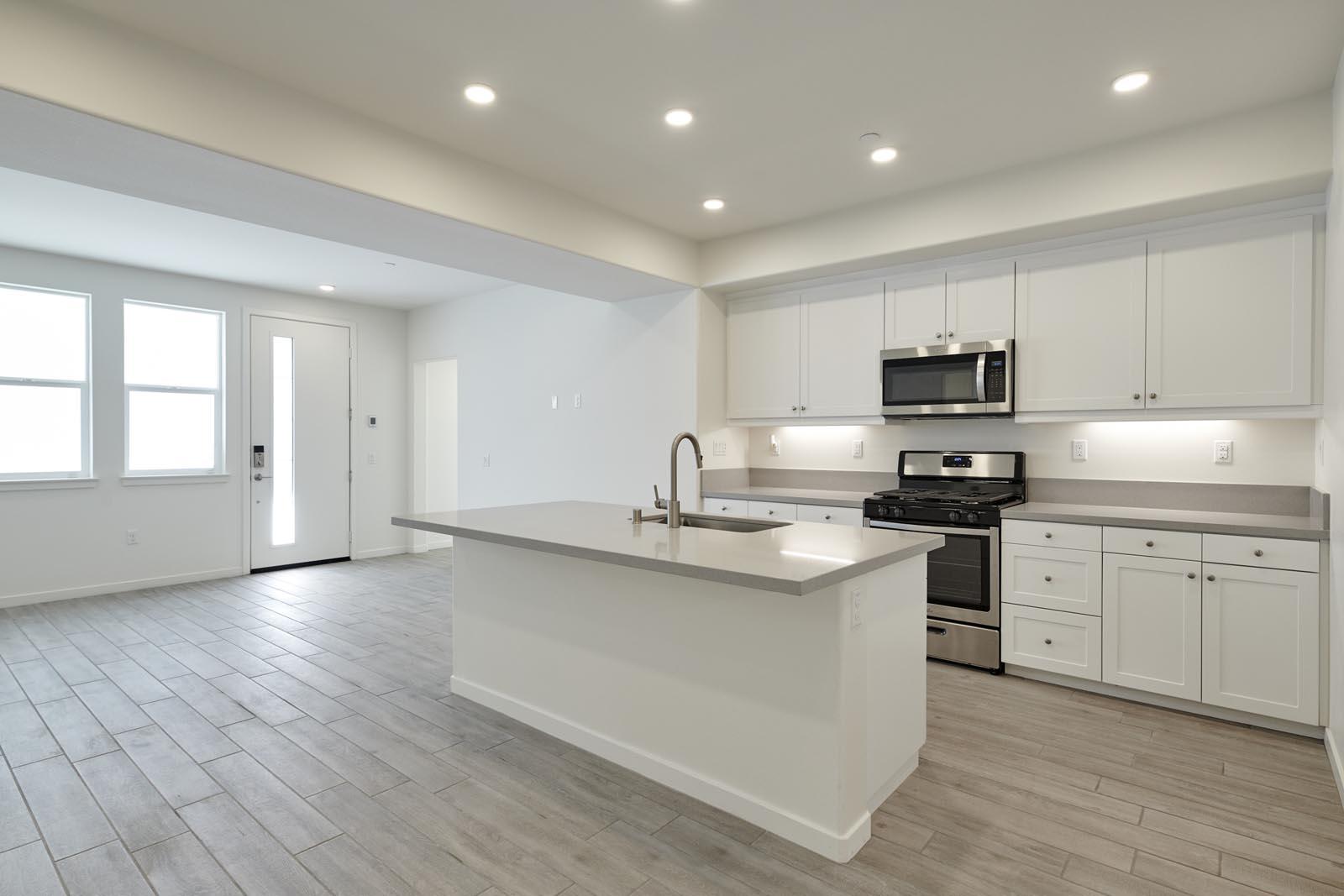 Kitchen | Residence 2 | Aspire | New Homes in Rancho Cucamonga, CA | Van Daele Homes