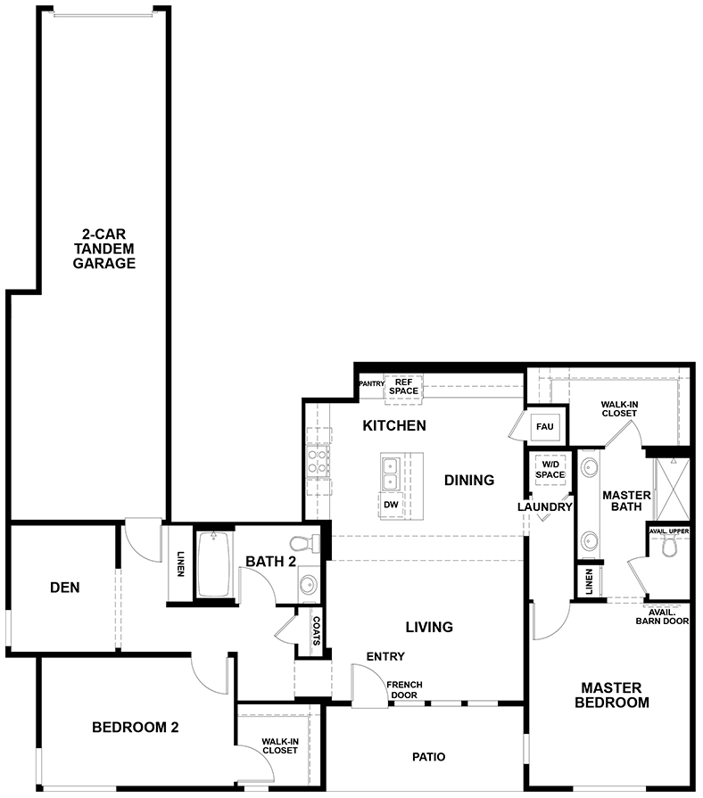Aspire | Residence 2X First Floor