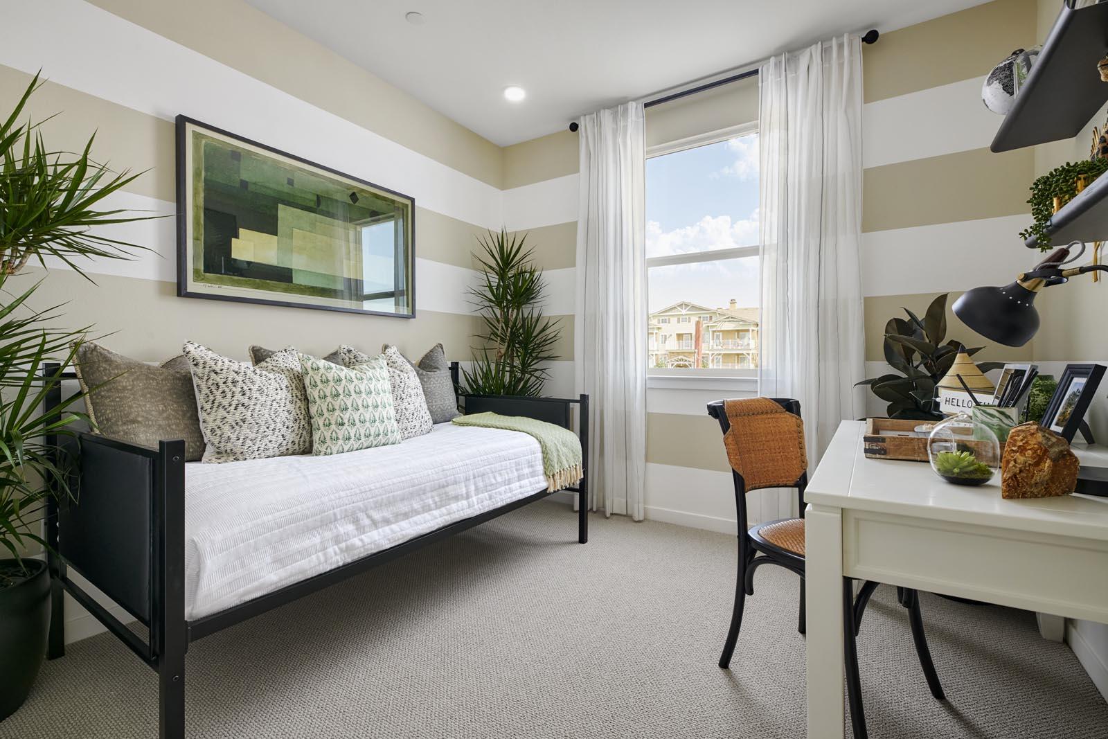 Bedroom | Residence 3 | Aspire | New Homes in Rancho Cucamonga, CA | Van Daele Homes