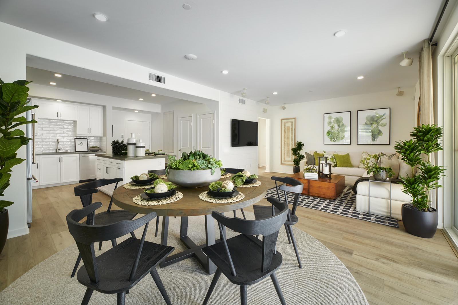 Dining Area | Residence 3 | Aspire | New Homes in Rancho Cucamonga, CA | Van Daele Homes