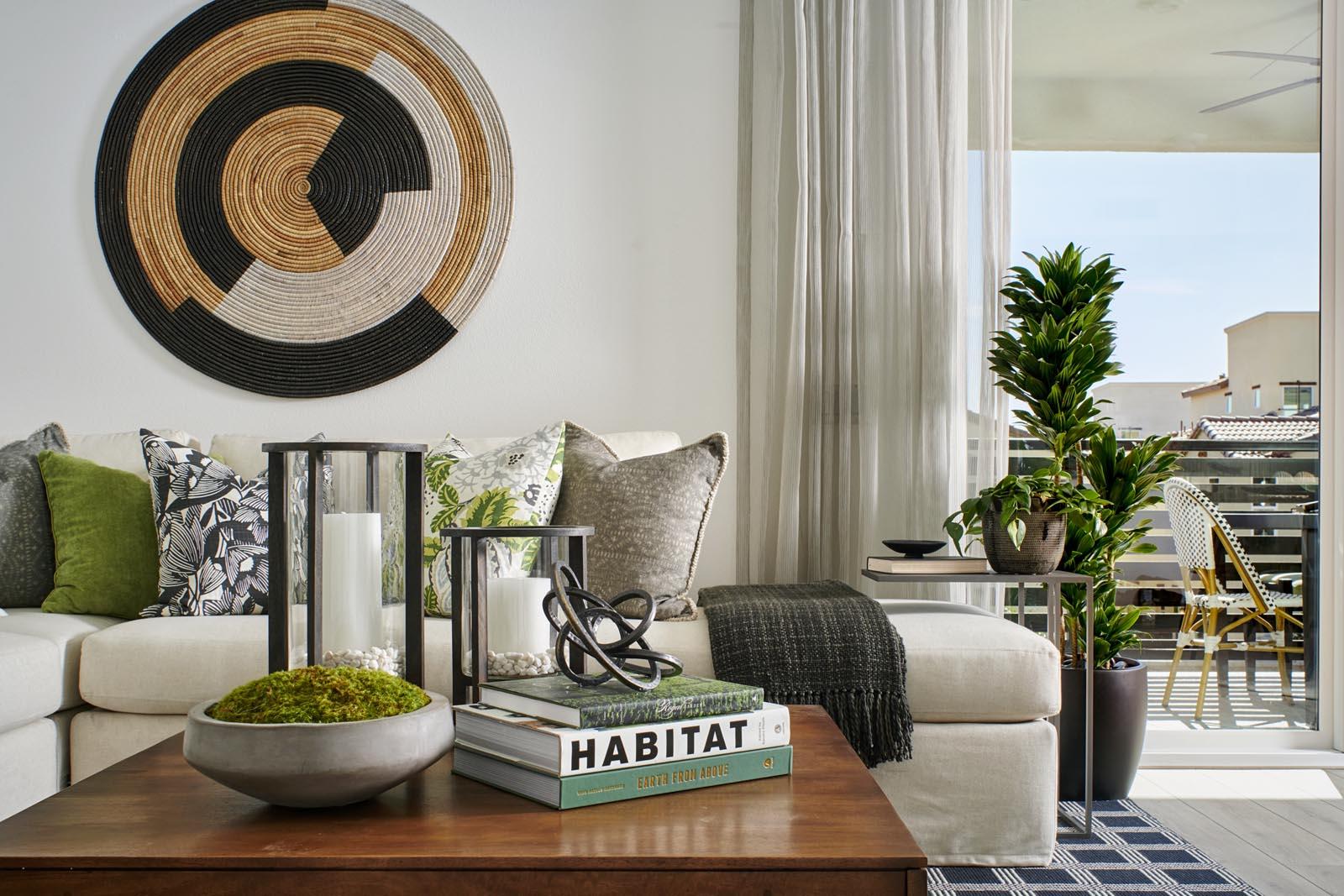 Great Room | Residence 3 | Aspire | New Homes in Rancho Cucamonga, CA | Van Daele Homes