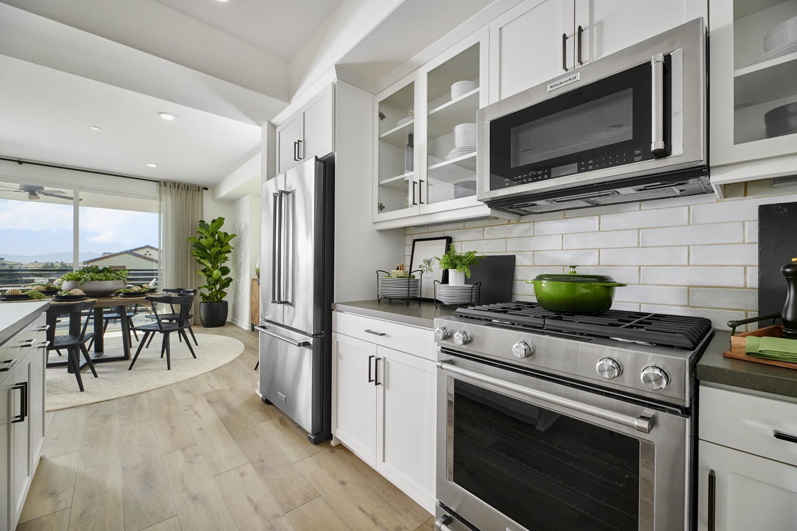 Kitchen   Residence 3   Aspire   New Homes in Rancho Cucamonga, CA   Van Daele Homes