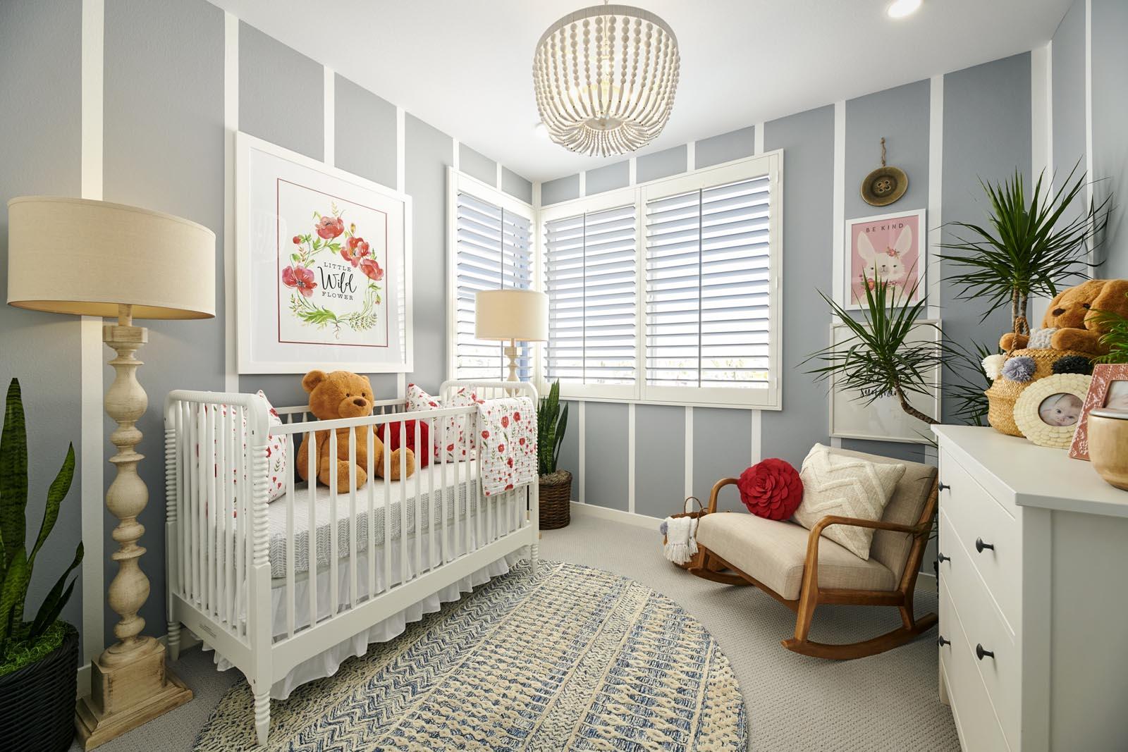 Bedroom | Residence 4 | Aspire | New Homes in Rancho Cucamonga, CA | Van Daele Homes
