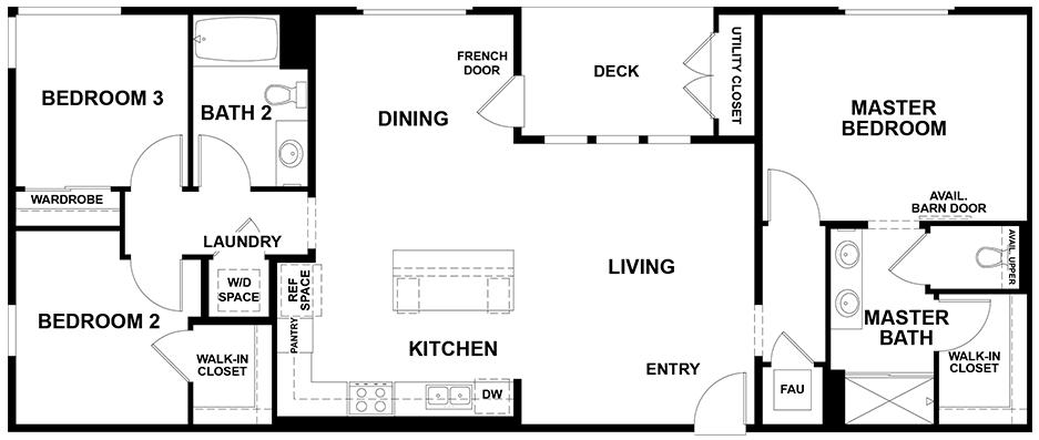Aspire | Residence 4 First Floor