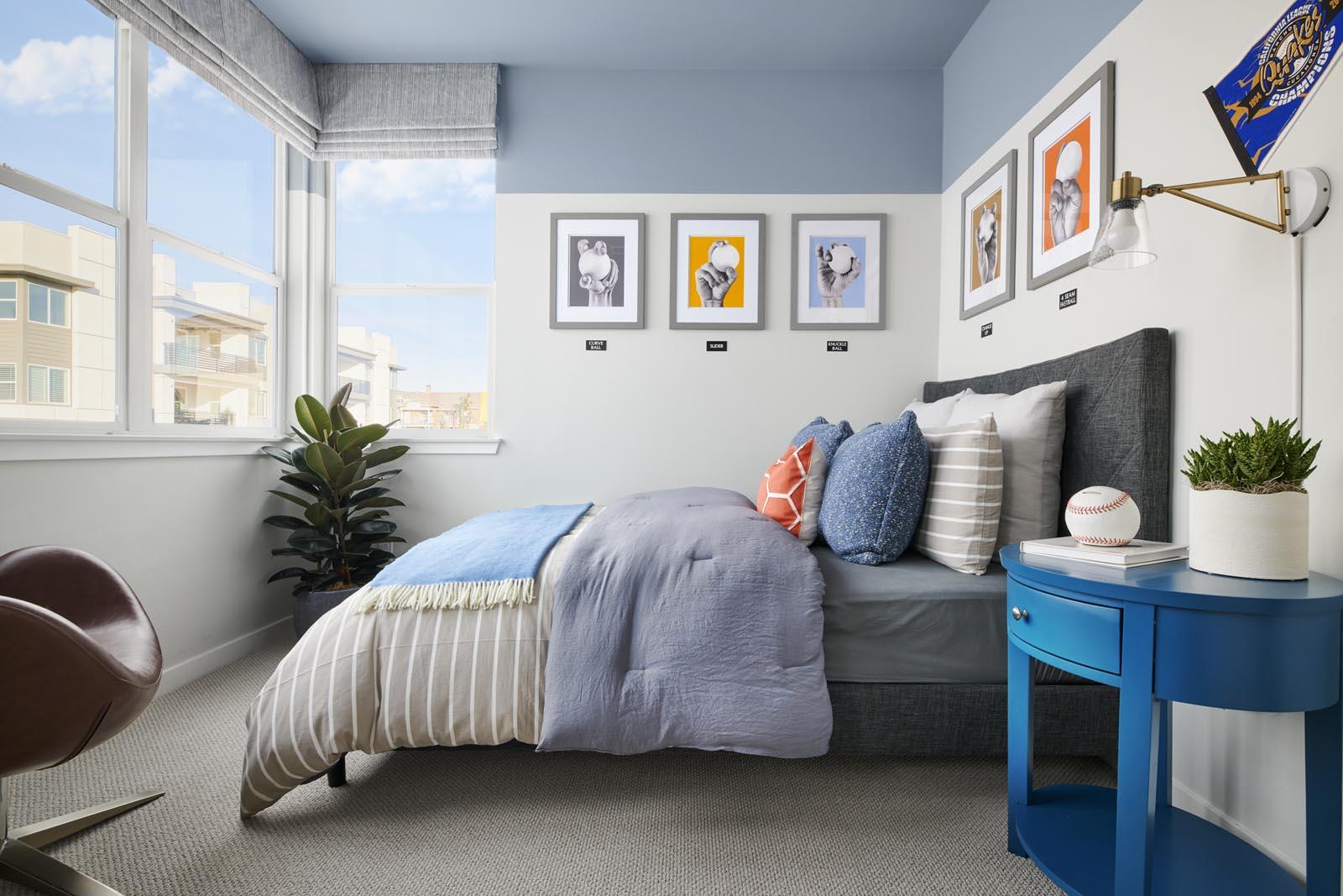 Bedroom | Residence 1 | Enliven | New Homes in Rancho Cucamonga, CA | Van Daele Homes