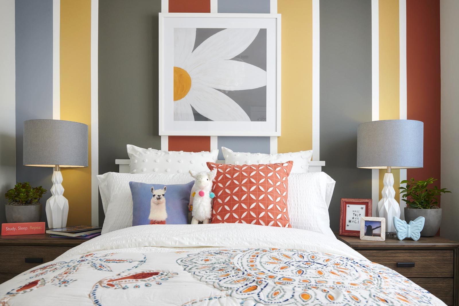 Bedroom   Residence 1   Enliven   New Homes in Rancho Cucamonga, CA   Van Daele Homes