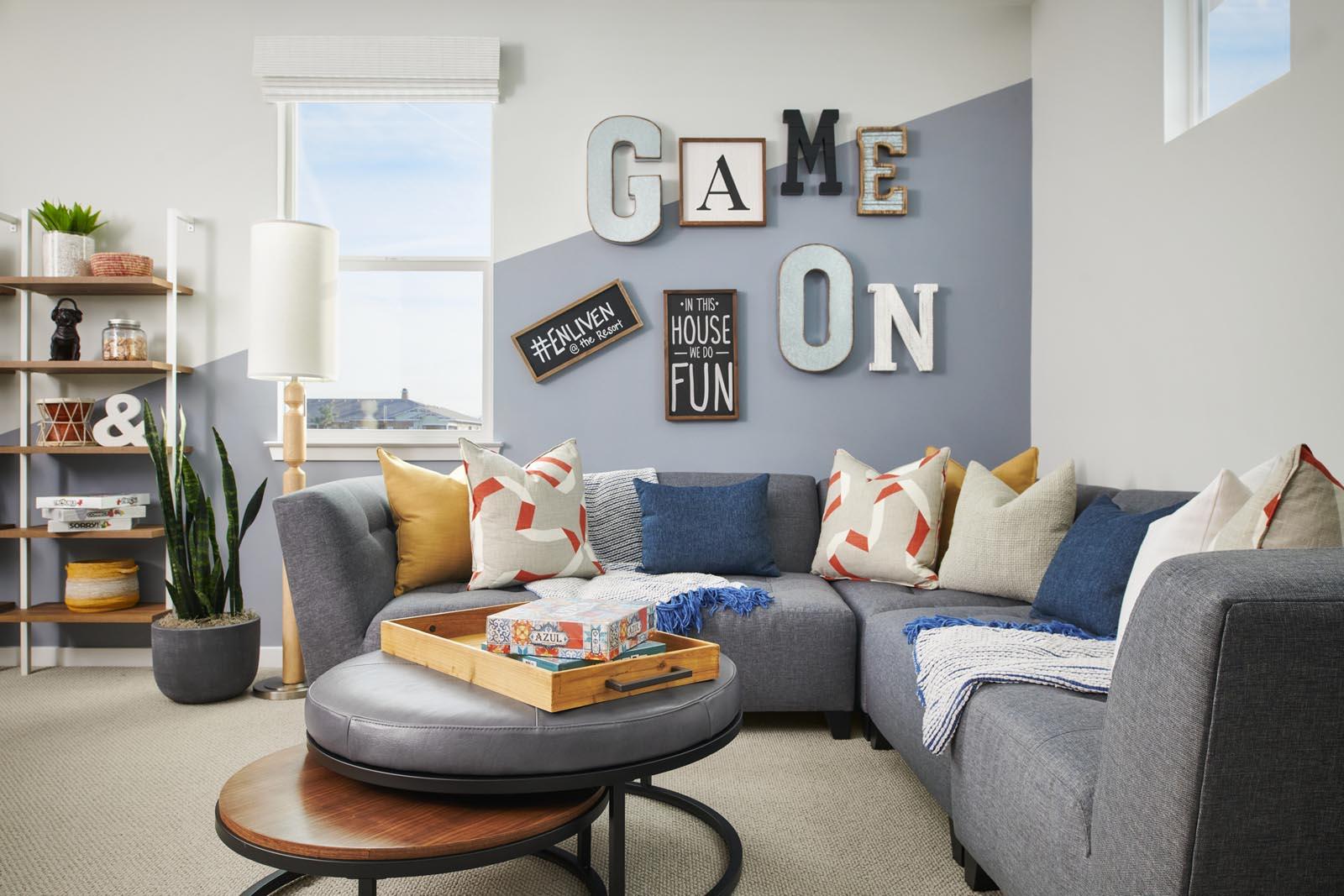 Den | Residence 1 | Enliven | New Homes in Rancho Cucamonga, CA | Van Daele Homes
