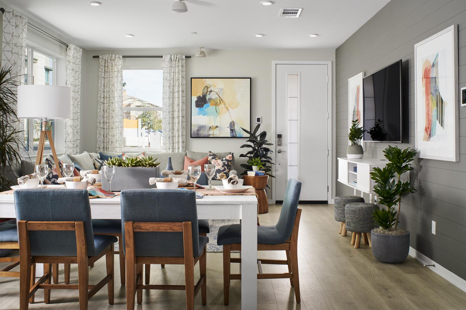 Dining Area   Residence 1   Enliven   New Homes in Rancho Cucamonga, CA   Van Daele Homes