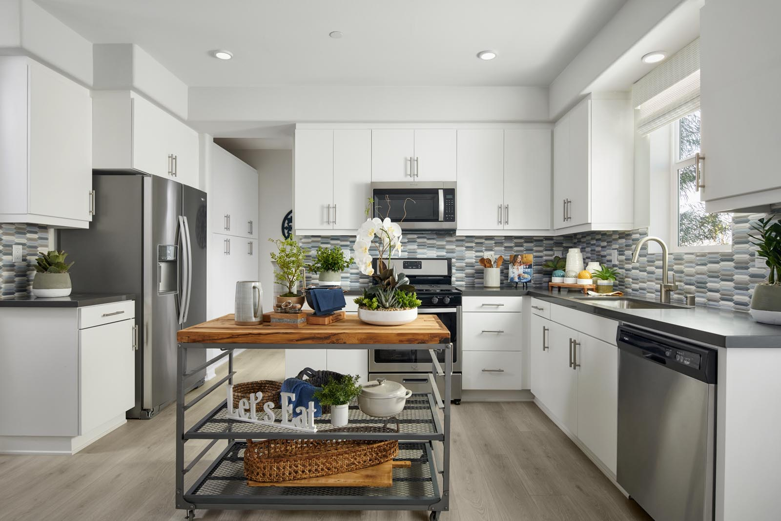 Kitchen   Residence 1   Enliven   New Homes in Rancho Cucamonga, CA   Van Daele Homes