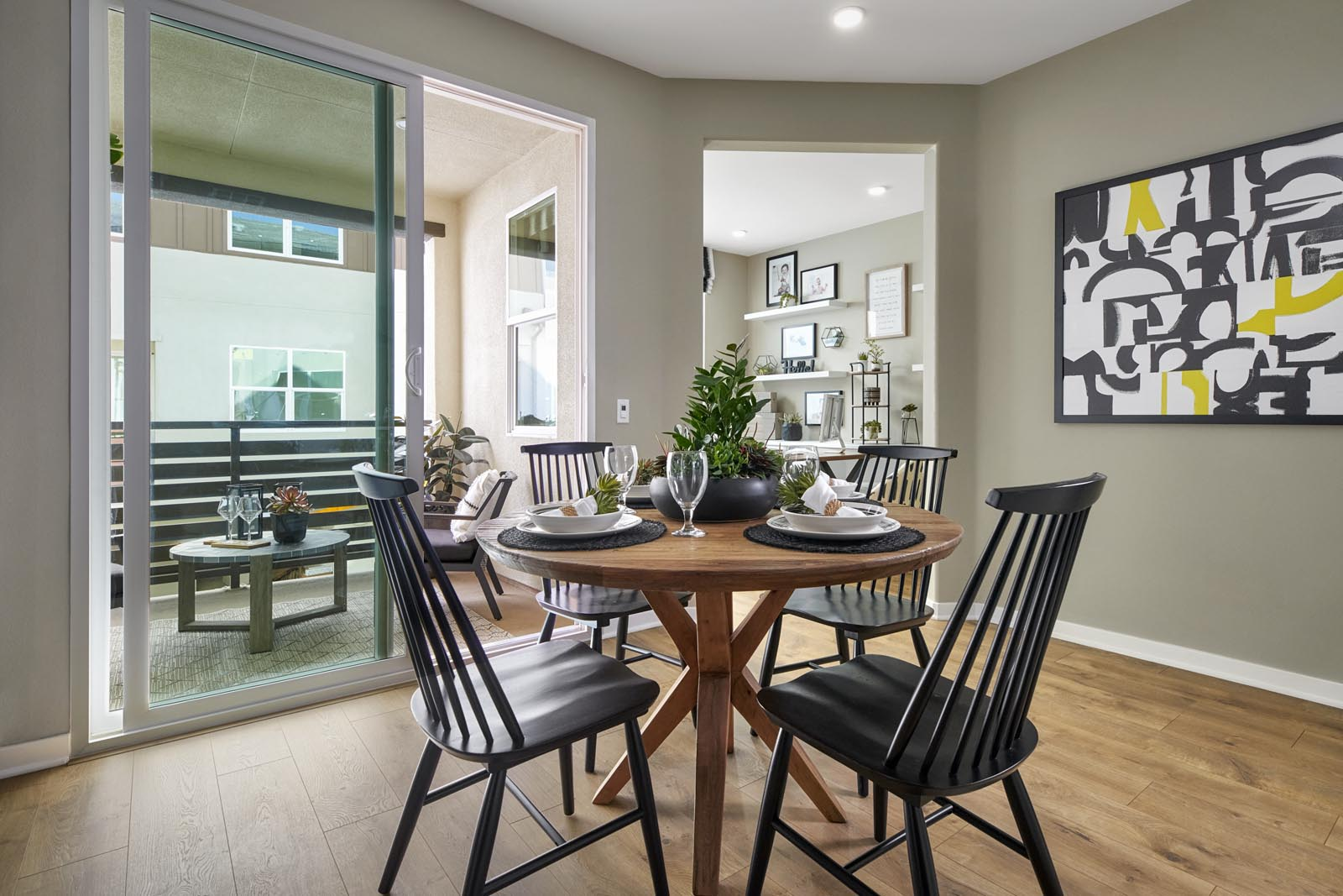 Dining Area | Residence 2 | Enliven | New Homes in Rancho Cucamonga, CA | Van Daele Homes