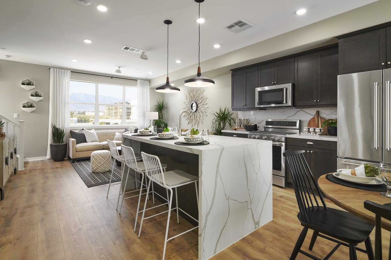 Kitchen | Residence 2 | Enliven | New Homes in Rancho Cucamonga, CA | Van Daele Homes
