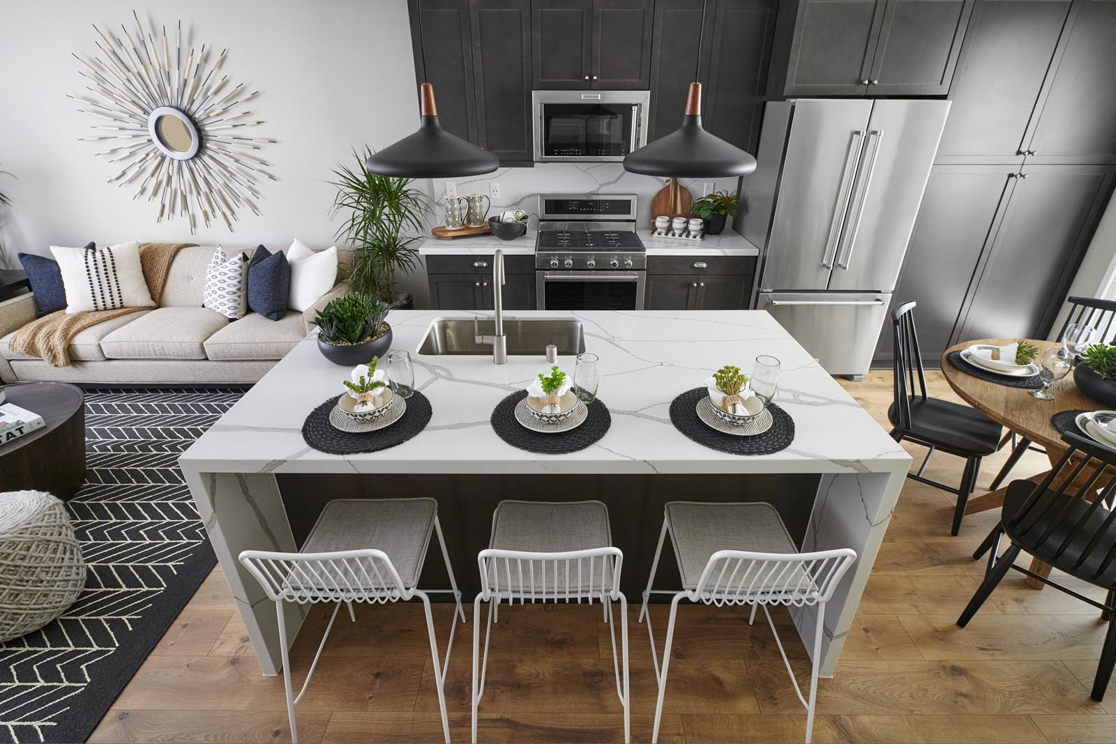 Kitchen   Residence 2   Enliven   New Homes in Rancho Cucamonga, CA   Van Daele Homes