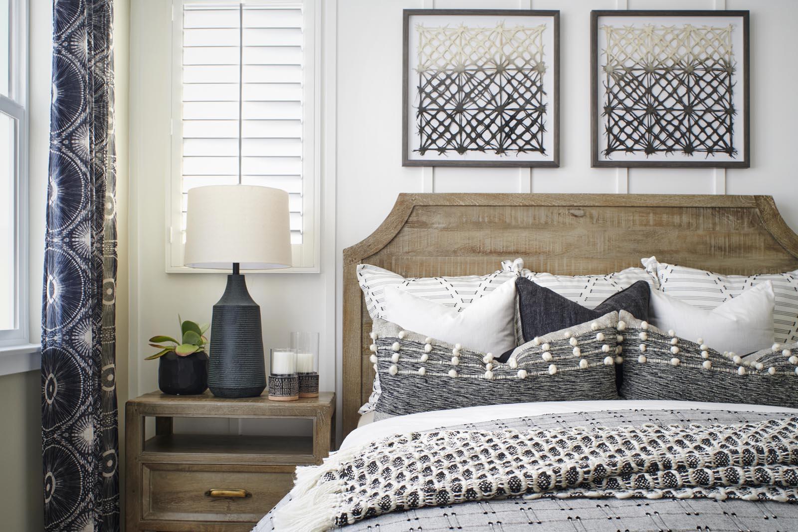 Master Bedroom | Residence 2 | Enliven | New Homes in Rancho Cucamonga, CA | Van Daele Homes
