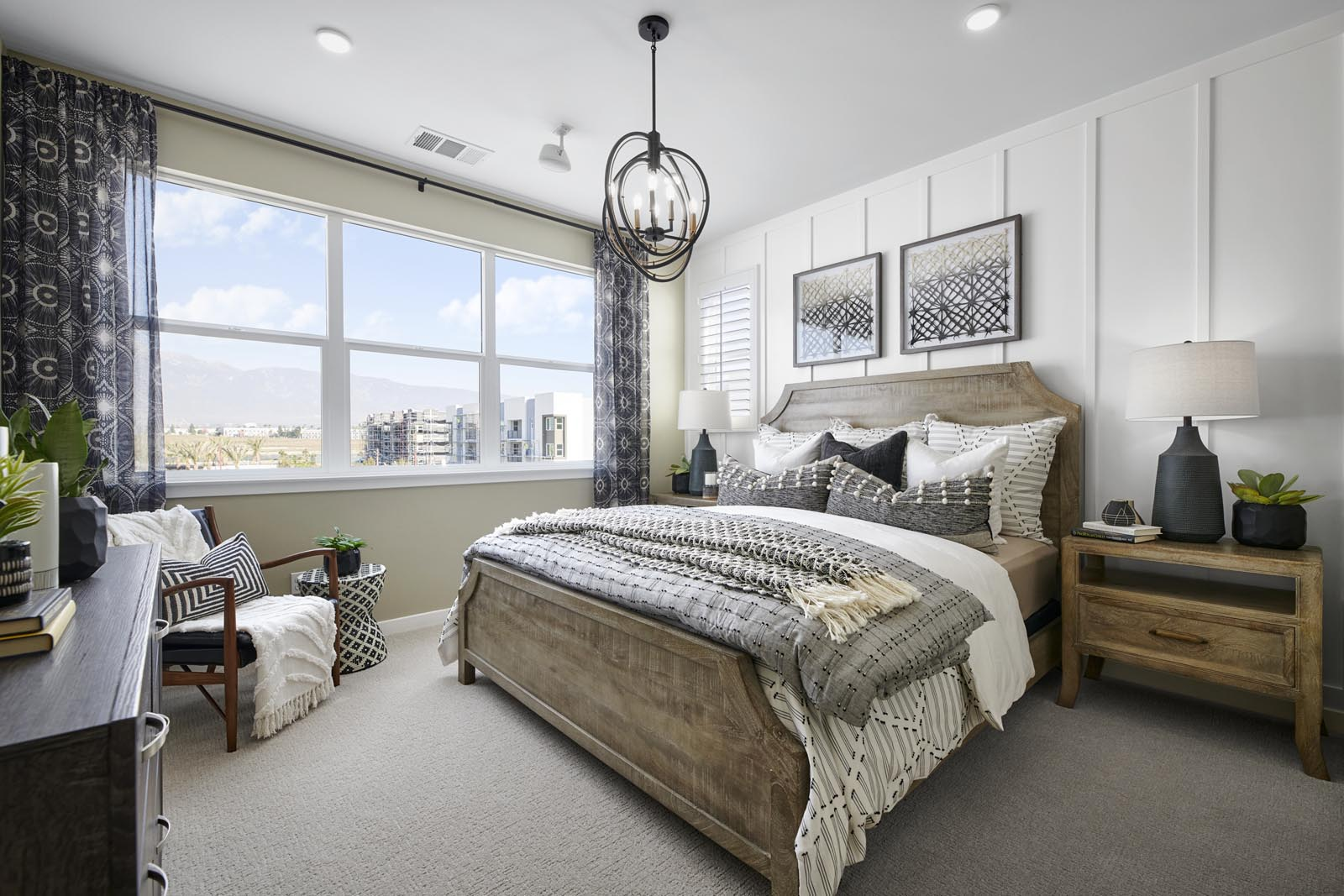 Master Bedroom | Residence 2 | Enliven | New Homes in Rancho Cucamonga, CA | Van Daele Homes