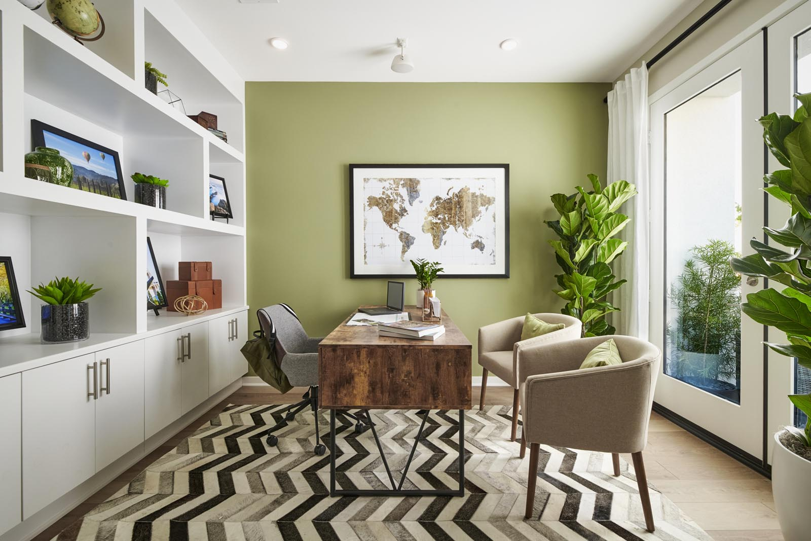 Den | Residence 3 | Enliven | New Homes in Rancho Cucamonga, CA | Van Daele Homes