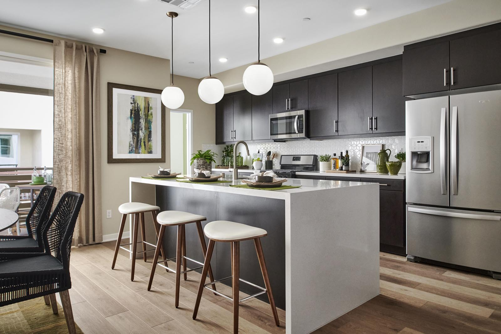 Kitchen   Residence 3   Enliven   New Homes in Rancho Cucamonga, CA   Van Daele Homes
