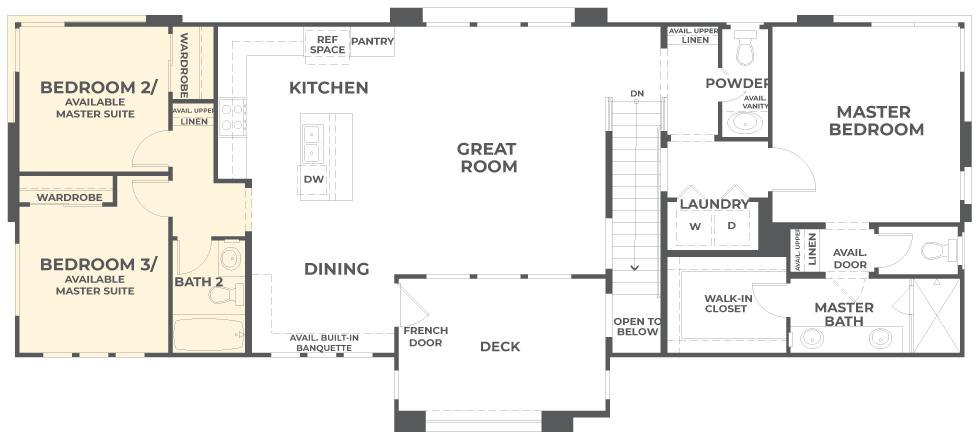 Lumin | Residence 1 Second Floor