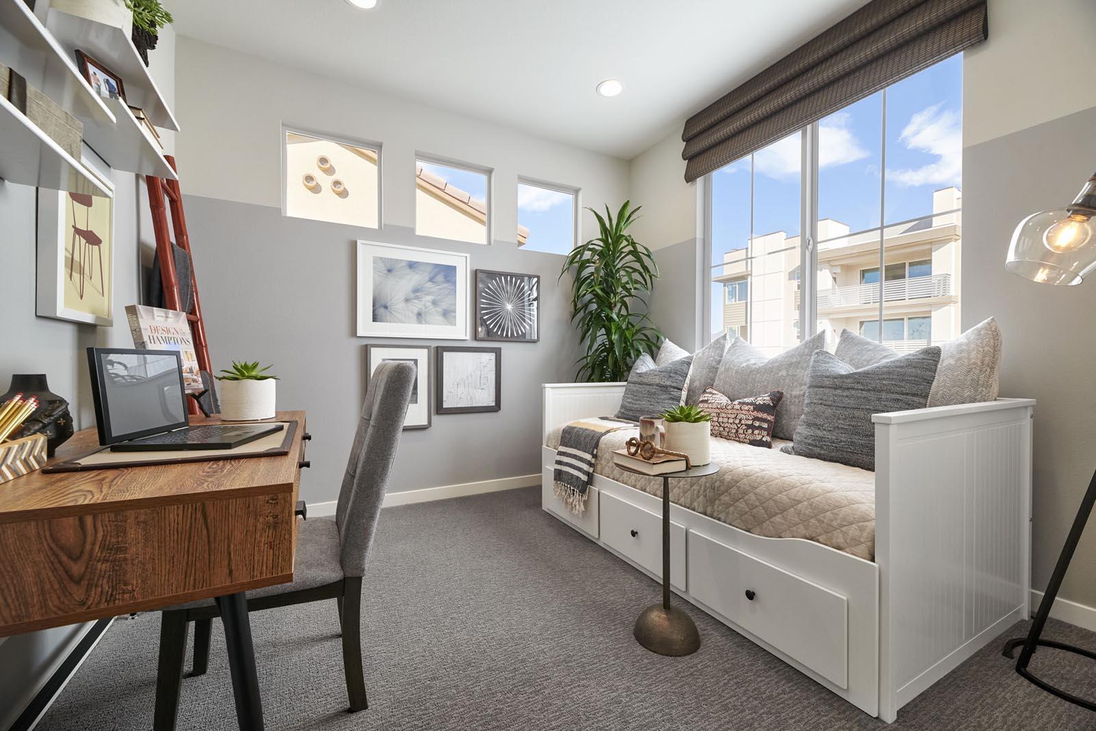 Office | Residence 1 | Lumin | New Homes in Rancho Cucamonga, CA | Van Daele Homes
