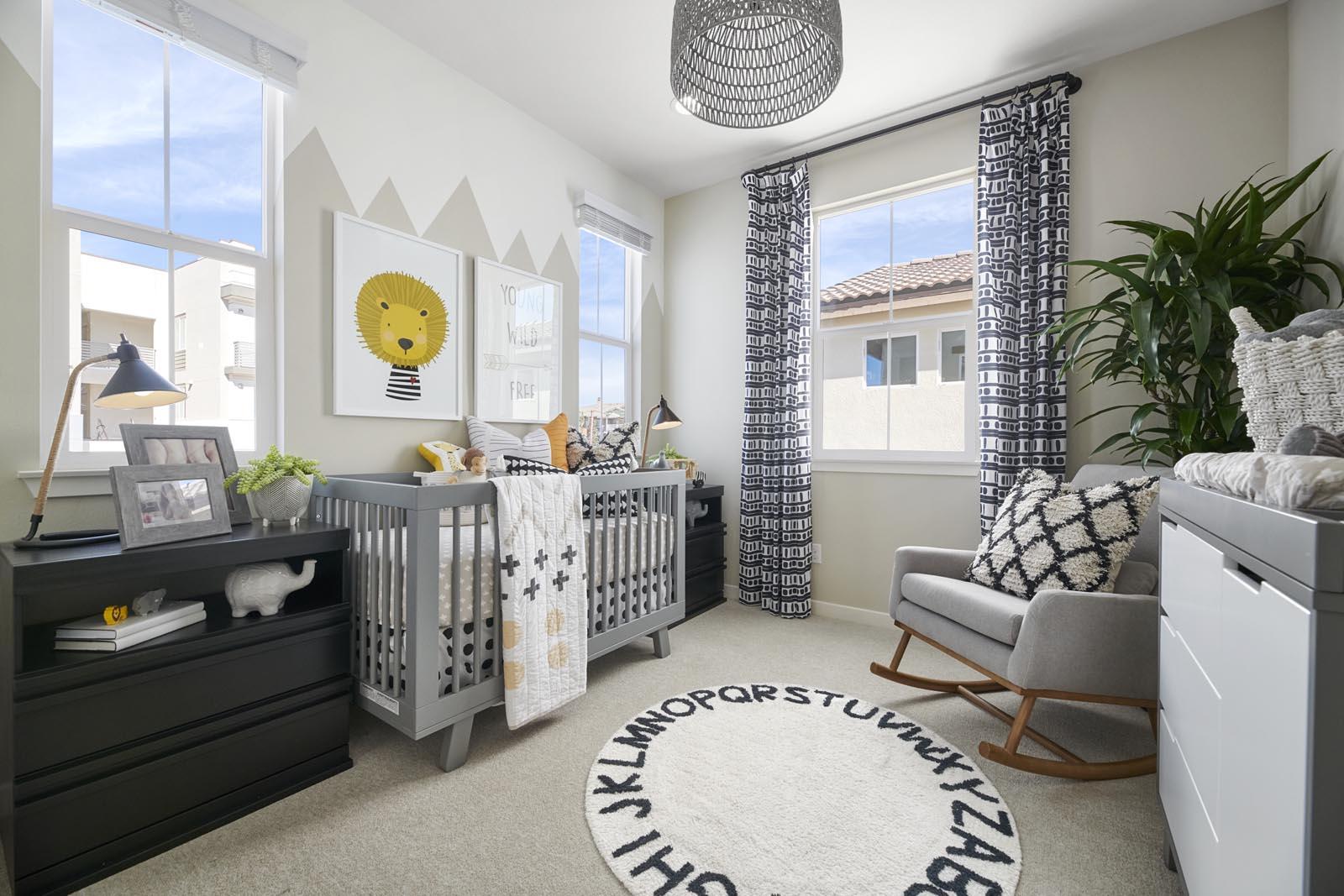 Bedroom | Residence 2 | Lumin | New Homes in Rancho Cucamonga, CA | Van Daele Homes