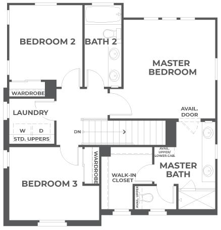 Lumin | Residence 2 Second Floor