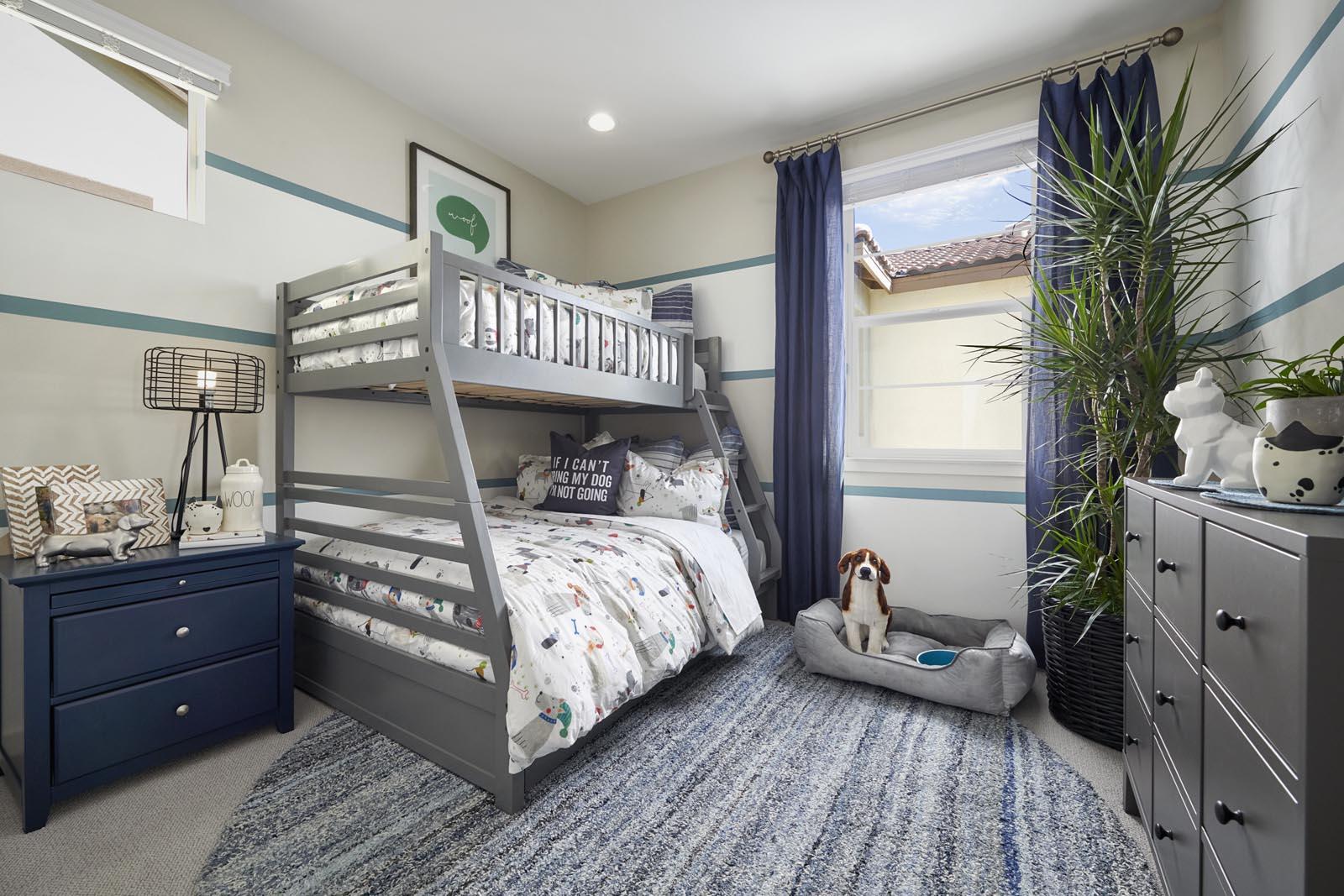 Bedroom   Residence 3   Lumin   New Homes in Rancho Cucamonga, CA   Van Daele Homes