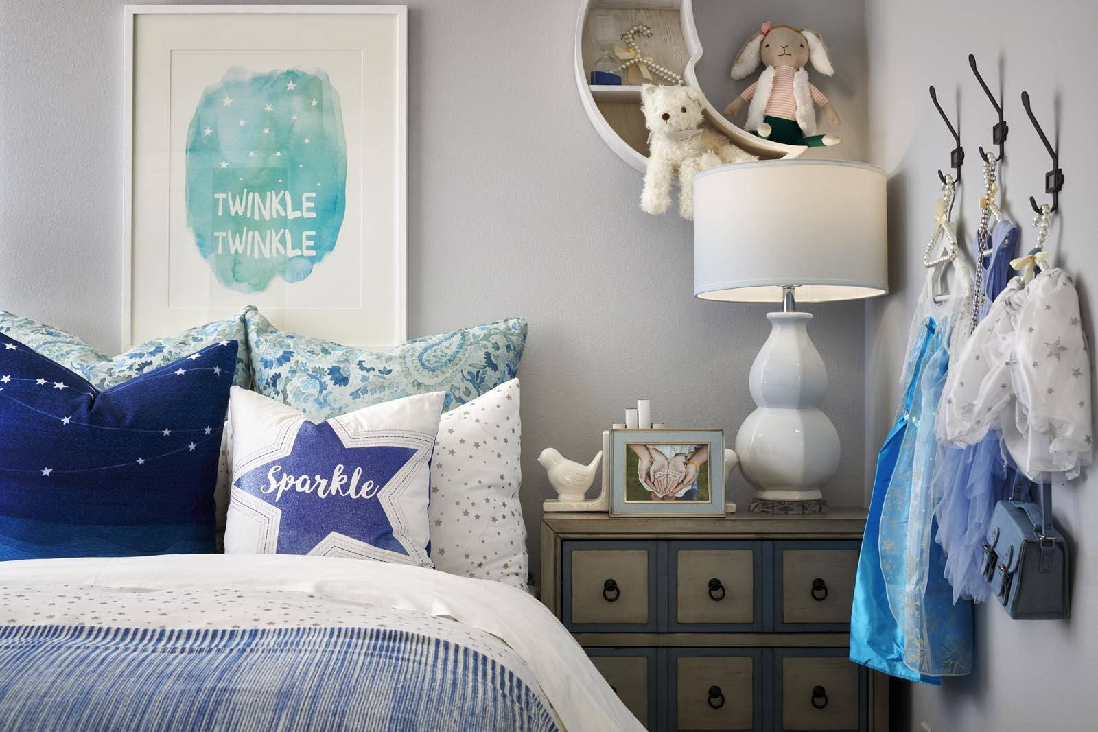 Bedroom | Residence 3 | Lumin | New Homes in Rancho Cucamonga, CA | Van Daele Homes
