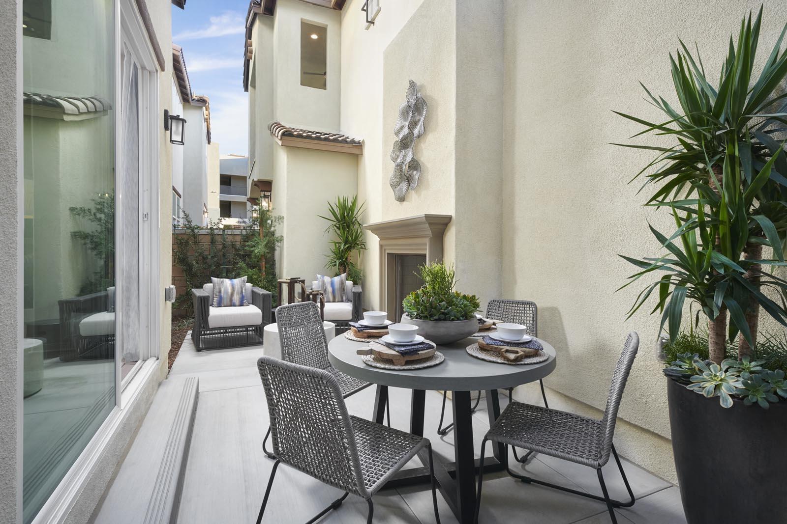 Patio   Residence 3   Lumin   New Homes in Rancho Cucamonga, CA   Van Daele Homes