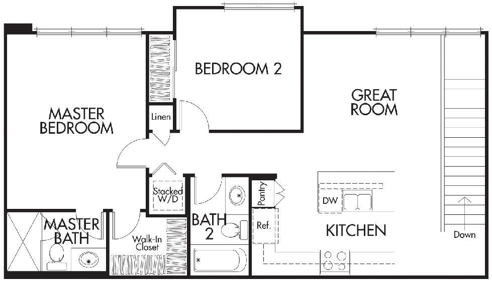Nova | Residence 1X Second Floor