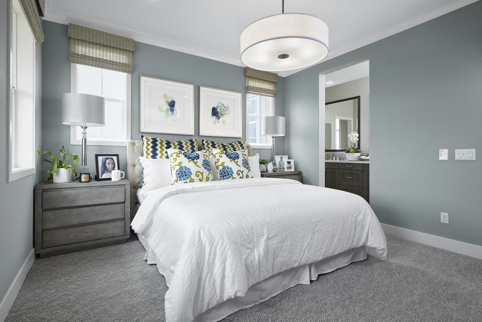 Master Bedroom | Residence 1 | Tempo | New Homes in Rancho Cucamonga, CA | Tri Pointe Homes