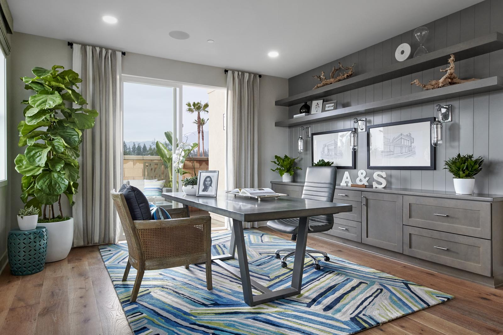 Den   Residence 1   Tempo   New Homes in Rancho Cucamonga, CA   Tri Pointe Homes