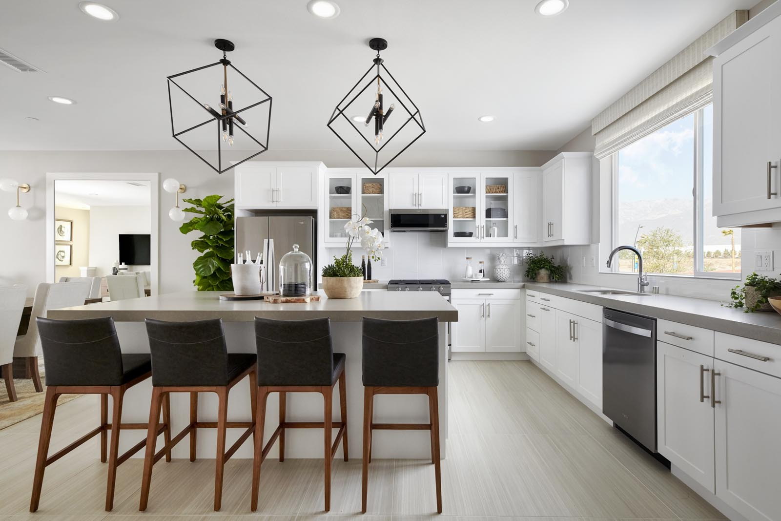 Kitchen | Residence 3 | Tempo | New Homes in Rancho Cucamonga, CA | Tri Pointe Homes