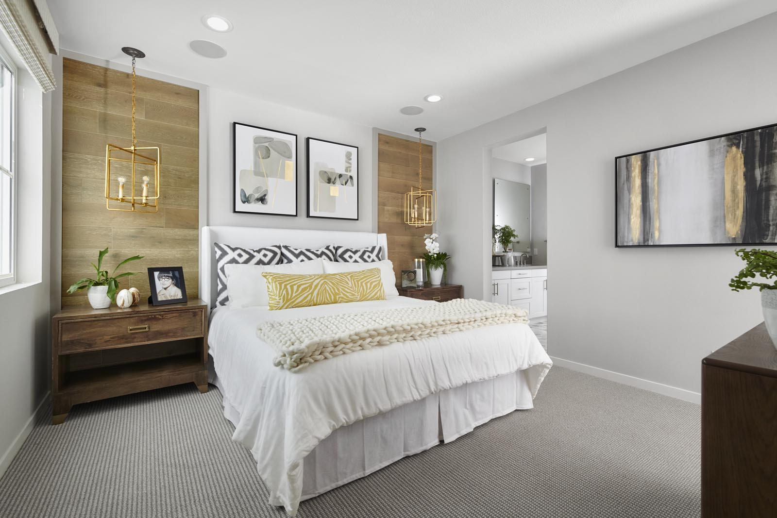 Master Bedroom | Residence 3 | Tempo | New Homes in Rancho Cucamonga, CA | Tri Pointe Homes