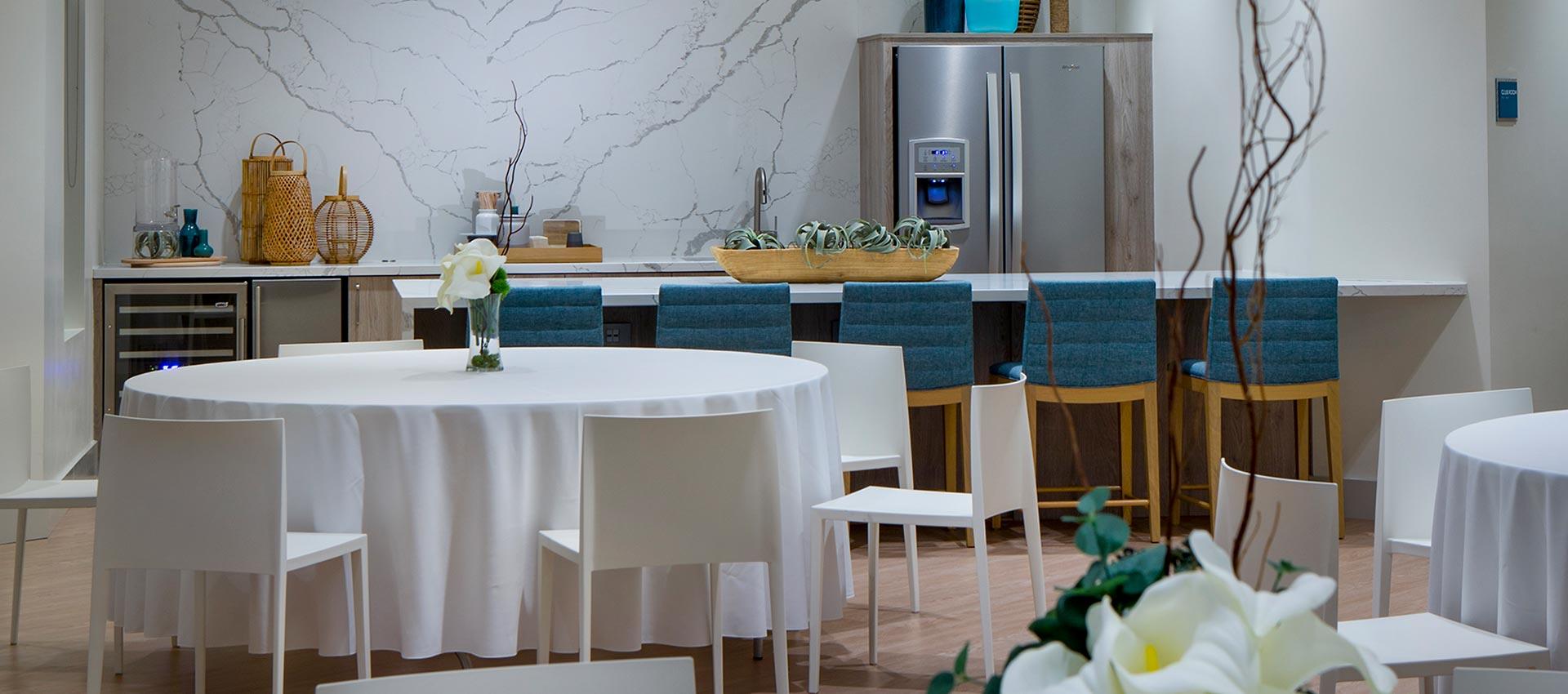 Club Room Kitchen – Club on 6<sup>th</sup>