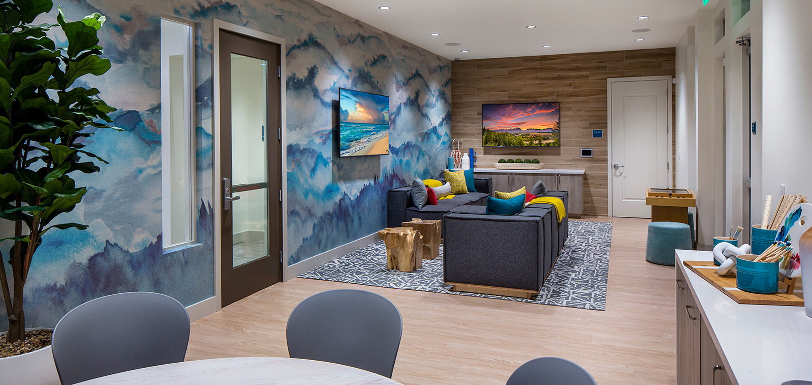 Activity Room | The Resort | New Homes in Rancho Cucamonga, CA