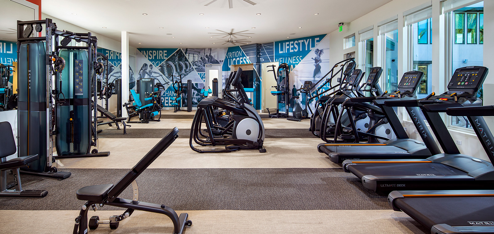Gym | The Resort | New Homes in Rancho Cucamonga, CA